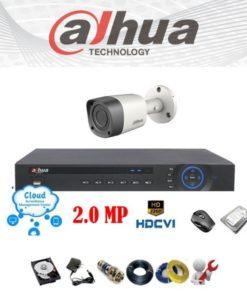 Trọn bộ 1 mắt camera giá rẻ chính hãng Dahua
